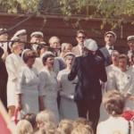 I mange år sang koret på 17 mai arrangementet som ble avholdt enten i Lommedalen eller i Sandvika. Hvite sangerluer var obligatorisk